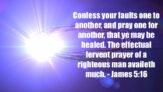 Confess Your Faults
